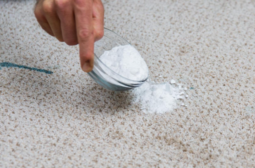 remove oil stain out of carpet